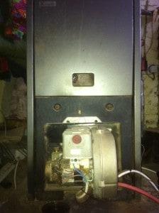 Oil-fired boiler