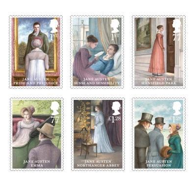 Jane Austin Stamps