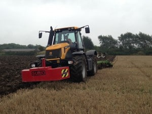 Fastrac Ploughing