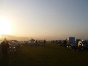 Bootsale Sunrise