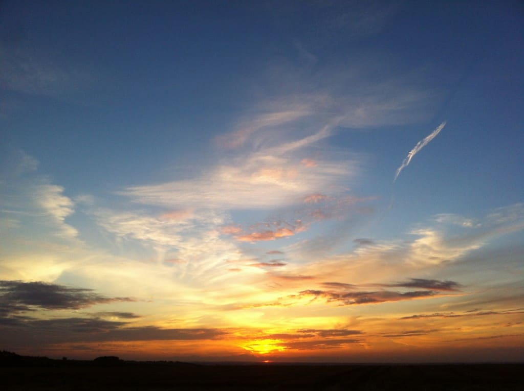 Baldock Sunset