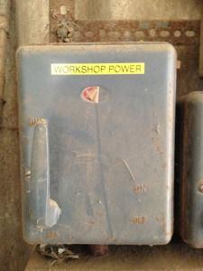 Workshop Power