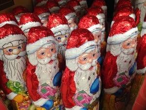 Chocolate Santas 2