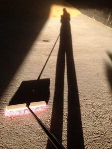 Sweeping Selfie