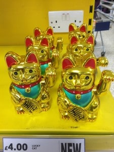 Six Lucky Cats