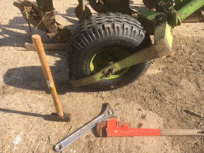 plough-wheel